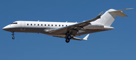 Rent a GlobalExpress for private flight