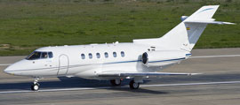 Rent a Hawker 750 for private flight